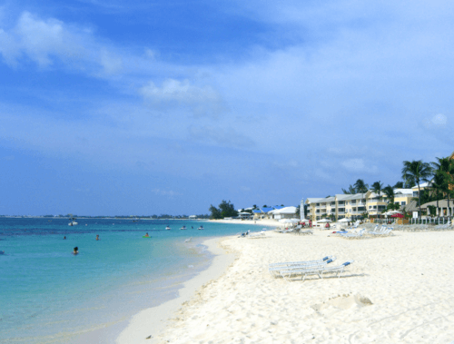 Picture Of Seven Mile Beach In Grand Cayman