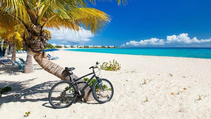 picture of another bicycle on seven mile beach